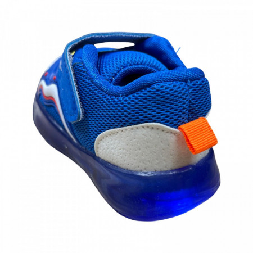 Adidasi F Albastri cu Leduri
