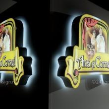 Logo Plexiglas - PVC - LED