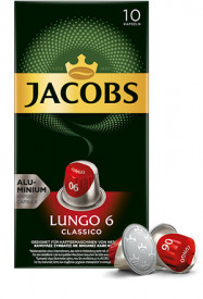 Jacobs Lungo 6 Classico – ein weicher, samtiger Charakter!