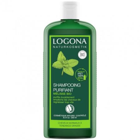 LOGONA šampon LEMON BALM za MASNU kosu i OSETLJIVU kožu glave 250ml