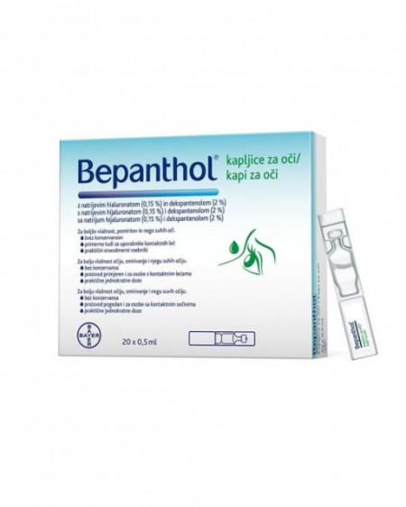 BEPANTHOL kapi za oči 0,5ml 20 ampula