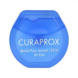 CURAPROX Konac za zube DF 834 mint - navošten 50m