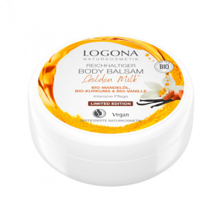 LOGONA GOLDEN MILK Bogati Balzam za Telo 150ml