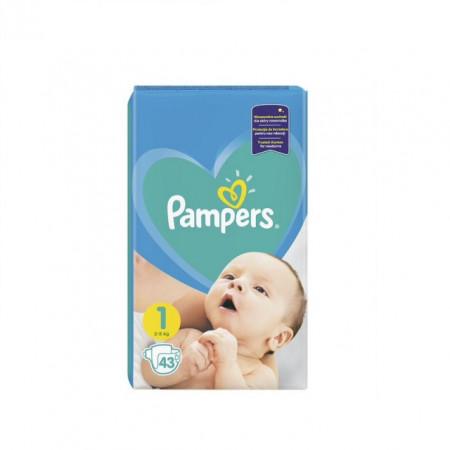 PAMPERS pelene active baby 1 NEW BORN (2-5kg) 43 komada