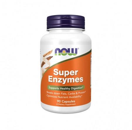 NOW Super-enzyme 90 kapsula