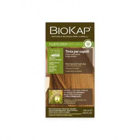 Slika BIOKAP Delicato Rapid farba za kosu 7.33 zlatno plava  135ml