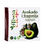 Eterra sapun avokado i fragonija 100g