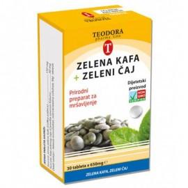 VITALON ZELENA KAFA+ ZELENI ČAJ tablete 30x