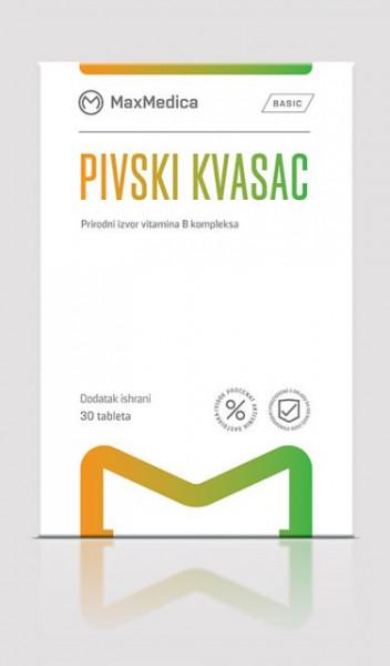 MaxMedica PIVSKI KVASAC 30 tableta