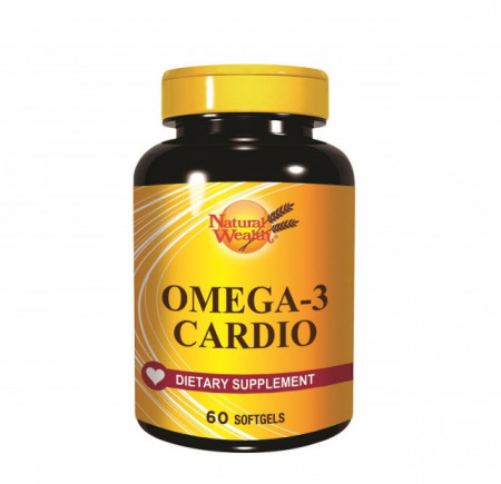 NATURAL WEALTH OMEGA-3 KARDIO 60 gel kapsula
