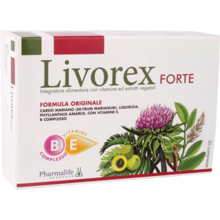 PHARMALIFE LIVOREX FORTE 30 tableta