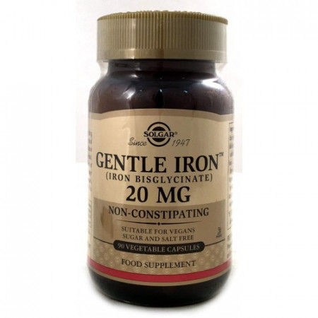 Solgar Gentle iron 90 kapsula
