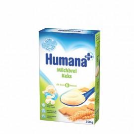 HUMANA kašica mlecna KEKS 250g
