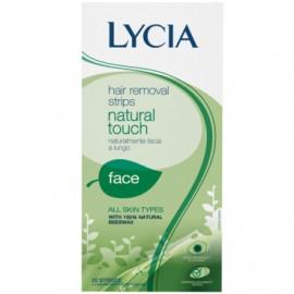 "LYCIA Depilacioni flasteri za lice NATURAL TOUCH ""prirodan dodir"" 20 komada"