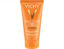 Slika VICHY IDEAL SOLEIL DRY TOUCH FINISH ZA LICE SPF 30 50ml
