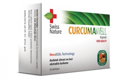 CURCUMAWELL 30 kapsula