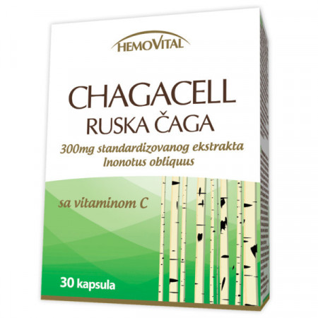 HEMOVITAL RUSKA ČAGA kapsule 30x