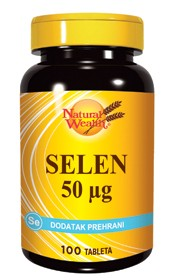Slika NATURAL WEALTH SELEN 100 tableta