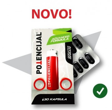 Slika POTENCIJAL ADVANCED formula 30 tableta