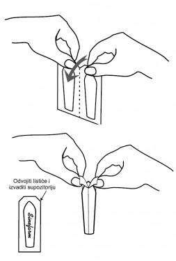 GLICEROLSKE SUPOZITORIJE 10x