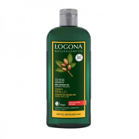 LOGONA šampon bio ARGAN za LOMLJIVU, OSTECENU kosu 250ml