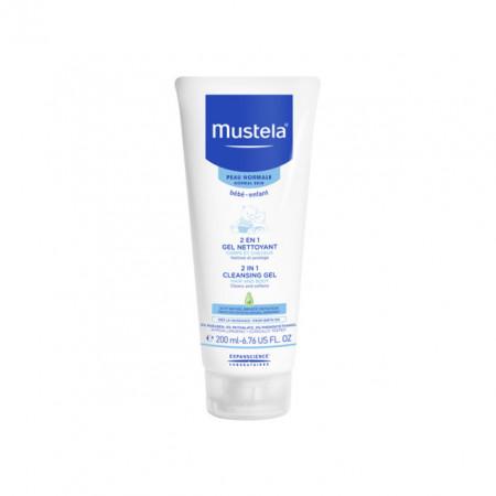 MUSTELA 2u1 šampon za pranje kose i tela 200ml