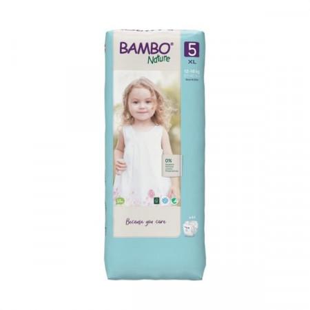 BAMBO Nature 5 Junior 12-22kg - 44 pelene