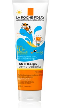 Slika LA ROCHE POSAY ANTHELIOS DERMO-PEDIATRICS SPF 50+ WET SKIN GEL losion 250ml