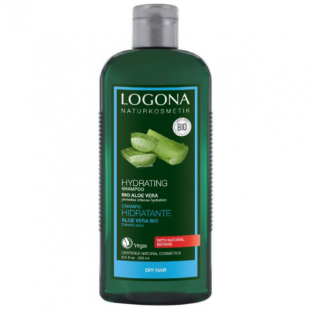 LOGONA šampon BIO ALOJA za SUVU OŠTEĆENU kosu 250ml