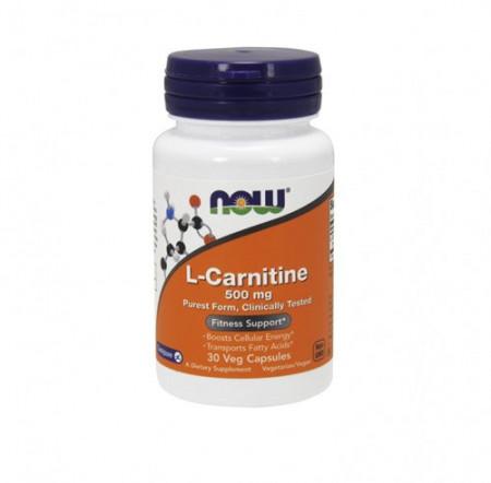 NOW L-Carnitin 500mg 30 kapsula