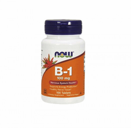 NOW Vitamin B-1 100mg 100 tableta