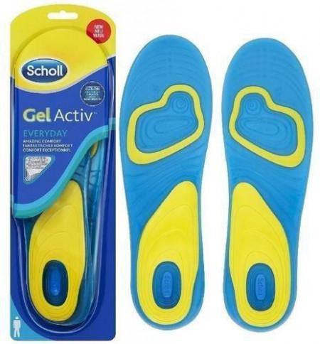 SCHOLL Gel Active ulošci za svaki dan veličina 40-46