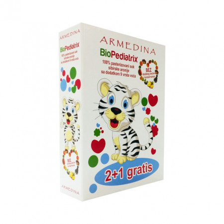 SIBIRSKA ARONIJA BIOPEDIATRIX sok 2+1 GRATIS (3X750ml)