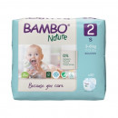BAMBO Nature 2 Mini 3-6kg - 30 pelena