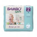 BAMBO Nature 2 Mini 3-6kg - 30 pelena