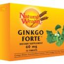 NATURAL WEALTH GINKGO FORTE 72 tablete