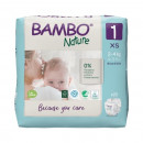 BAMBO Nature 1 New born 2-4kg - 22 pelene