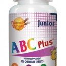NATURAL WEALTH ABC PLUS JUNIOR 100 tableta za žvakanje