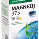MAGNEZIJUM 375 mg + B6 + vitamin C šumeće tablete 20x