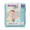 BAMBO Nature 3 Midi 5-9 kg - 28 pelena