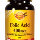 NATURAL WEALTH FOLNA KISELINA 400 µg 250 tableta
