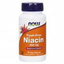 NOW NIACIN 250mg 90 kapsula