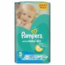PAMPERS pelene 5 GIANT PACK JUNIOR (11-18kg) 64 komada