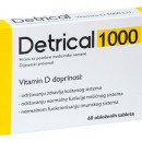 DETRICAL tablete vitamin D3 1000IJ 60X