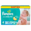 PAMPERS pelene 4 MAXI GIANT BOX (7-14kg) 90 komada