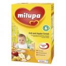 Milupa kašica mlecne cerealije OVAS i JABUKA 250g (6m+)