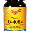 NATURAL WEALTH VITAMIN D-400 IU 100 tableta