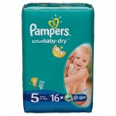 PAMPERS pelene 5 JUNIOR (11-18 kg) 16komada