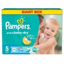 PAMPERS pelene 5 GIANT BOX JUNIOR (11-18kg) 78 komada