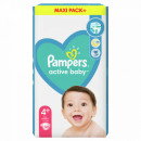 PAMPERS active baby pelene 4 maxi plus (10-15kg) 54 komada
